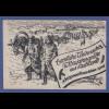 """Dt. Reich 1942 Feldpostkarte aus Rußland """"Kriegsweihnachten 1942"""" gel -> Italien"""