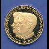Goldmedaille Johnfkennedy Robert Kennedy 1054g 900er Gold