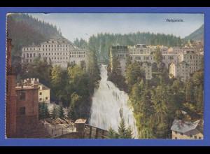 AK Österreich Kurort Badgastein Wasserfall 1932