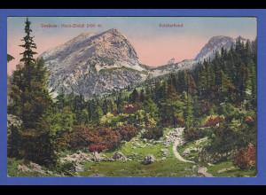AK Österreich Gesäuse Hoch-Zinödl 2190 m. Sulzkarhund 1914