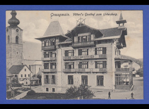 AK Österreich Grossgmain Vötterl`s Gasthof zum Untersberg 1909