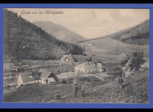 AK Österreich Gruss von der Königsalm 1907