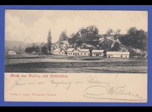 AK Österreich Gruss aus Golling und Hinterleiten um 1910