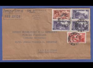 Vietnam 1955 Deutsche Diplomaten-Post nach Frankreich, Saigon , schöner Beleg