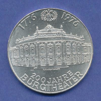Österreich 100-Schilling Silber-Gedenkmünze 1976, Burgtheater Wien