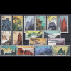 VR China 1963 Landschaften von Huangshan Mi.-Nr. 744- 759 gestempelt # S57