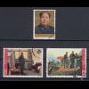 VR China 1965 Zunyi-Konferenz Mi.-Nr. 858-860 gestempelt # C109