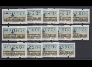 Berlin ATM Tastensatz TS2 14 Werte 10-350 Pfg postfrisch **