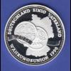 Silbermedaille Währungsunion BRD und DDR 1. Juli 1990 Ag999 20g.