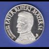 Silbermedaille Pater Rupert Mayer Bürgersaal in München Ag1000 26g.