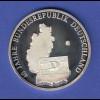 Silbermedaille 40 Jahre BRD Ag999 8,5g