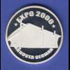 Silbermedaille EXPO2000 Hannover Ag999 14,9g