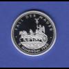Silbermedaille Fall der Mauer 9. November 1989 Quadriga Ag999 8g