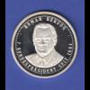 Silbermedaille 7. Bundespräsident seit 1994: Roman Herzog Ag999 8g