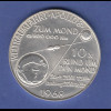 Silbermedaille Apollo 8 Mondumkreisung Borman, Wanders, Lovell Ag1000 24,9g