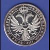 Silbermedaille August von der Embde, gepr. 1974, Ag1000 24,7g