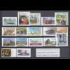 Bundesrepublik alle selbstklebenden Briefmarken des Jahrgangs 2017 komplett **