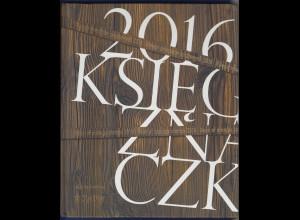 Polen Jahrbuch 2016 komplett bestückt mit postfrischen Markenausgaben **