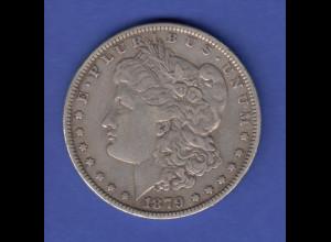USA Silver Morgan Dollar 1879
