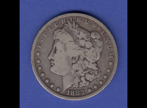 USA Silver Morgan Dollar 1883
