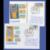 Ganzsache PLUSKARTE mit ATM-Wertstempel Br.-Tor 0,45 mit So.-O Bonn 2.1.2011 ect