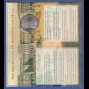 Maria Theresia-Taler besonders schön präsentiert im Folder der Münze Österreich