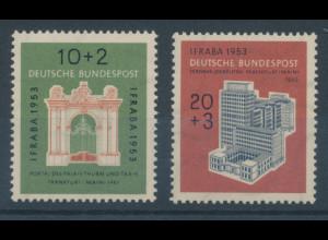 Bundesrepublik 1953, Briefmarken-Ausstellung IFRABA, Mi.-Nr. 171-172 **
