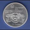 Kanada 1976 Olympische Spiele Montreal 10$ Münze 48,4g 925er Silber