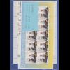 Frankaturware Deutschland orig. postfrisch, hohe Werte 10er-Bogen = 75,60 €