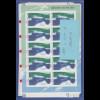 Frankaturware Deutschland orig. postfrisch, Wert 0,56 18 10er-Bogen = 100,80 €