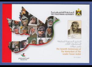 Palästina / Palestine 2011 Markenheftchen Jassir Arafat **