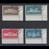 Bundesrepublik Olympia 1972 Bauwerke in München Mi.-Nr 624-27 mit Formnummern O