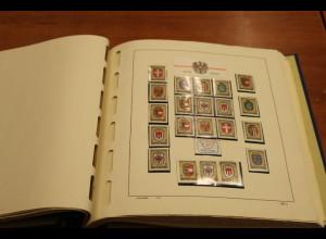 Österreich 1975-1980 Sammlung O überkomplett mit Extras, vielen Belegen usw.