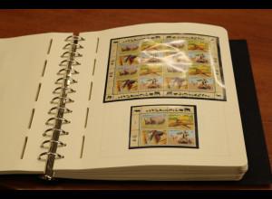 UNO Wien 1988-2002 umfangreiche Sammlung ** mit vielen KLB, Ganzsachen ect