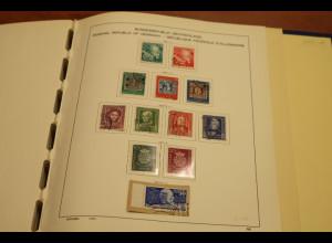 Bundesrepublik Sammlung 1949-1979 gemischt / teils doppelt O/** im alten Album