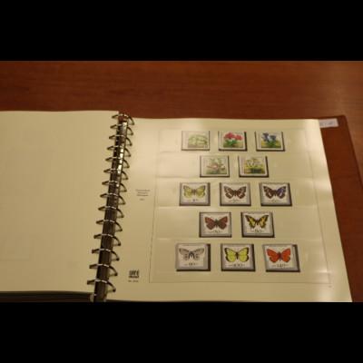 Bundesrepublik 1980-1992 schöne kpl. Sammlung auf SAFE-Vordrucken im Binder