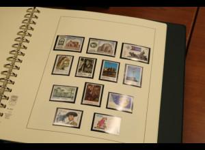 Spanien 1981-2000 Sammlung kpl. postfrisch ** in 3 Alben.