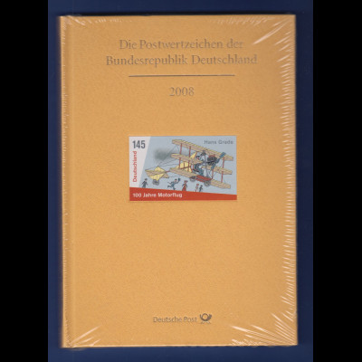 Briefmarken JAHRBUCH Bundesrepublik Deutschland 2008 kpl. bestückt OVP