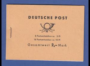 DDR Ulbricht Markenheftchen Mi.-Nr. MH 4c 3b **