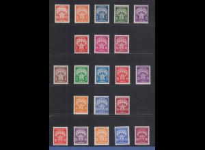 Jugoslawien Portomarken 1946-1962 Mi.-Nr. 89-96, 100-107 und 108-112 kpl. **