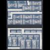 DDR 1989 Meissener Porzellan Mi.-Nr. 3241-44 kpl. Garnitur 16 Zusammendrucke **