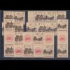 DDR 1985 SOZPHILEX Mi.-Nr. 2965-66 Lot Zusammendrucke **
