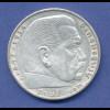 5-Reichsmark-Silbermünze Paul von Hindenburg 1936 A ...
