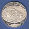 Bayern 800 Jahre Wittelsbacher 1180-1980 edle große Silbermedaille, 40g Ag999