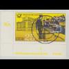 DDR 1981 Mi.-Nr. 2587 Eckrandstück mit Druckvermerk DV, zentrisch O WERDAU