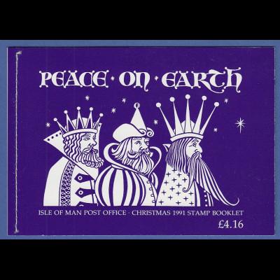 GB Isle of Man 1991 Prestige-Markenheftchen Weihnachten Mi.-Nr. 0-8 **