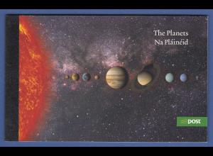 Irland 2007 Prestige-Markenheftchen Die Planeten Mi.-Nr. MH 62 **