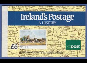Irland 1990 Prestige-Markenheftchen 150 Jahre Briefmarken Mi.-Nr. MH 14 **