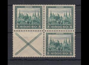 Deutsches Reich Nothilfe 1930 Aachen Zusammendruck-Kombination S80 bzw. W37 **