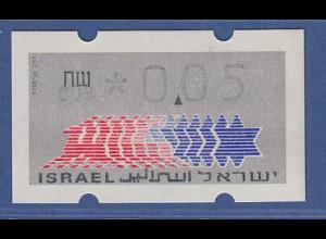 Israel Klüssendorf ATM Dauerausgabe 1.Papier, mit Aut.-Nr. 003 , Mi.-Nr. 3.1.3
